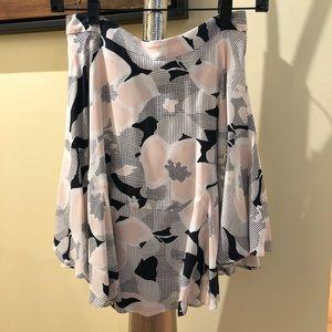 Club Monaco Silk Skirt; Sz: 0